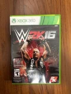 W2k16 for Xbox 360