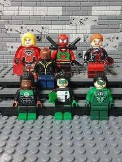 WM Superheroes & Supervillians Minifigures