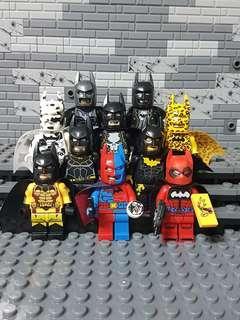 WM Batman Minifigures