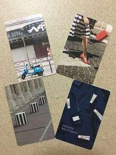 Collectible Hotel Key Cards