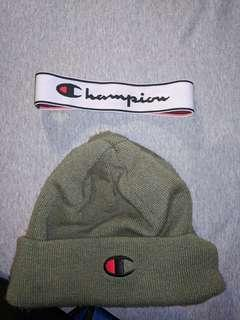 Champion winter hat with headband