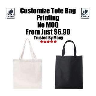 Customize Tote Bag Printing