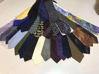 Ties for Sales! (Pre-owned & Brand new)