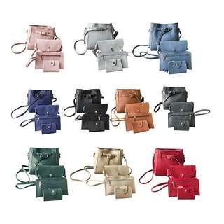 🔴2 for $15🔴4pcs Sling Bag Sets