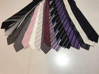 TIES FOR SALE (PRE OWNED & BRAND NEW)