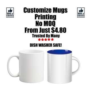 Customize Mugs Printing