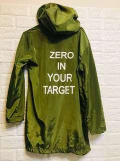 🚚 軍綠風衣外套🧥