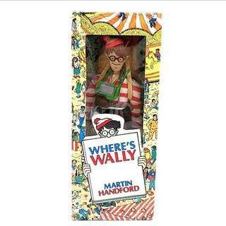 收藏品Where's Wally? Action Figure 1991