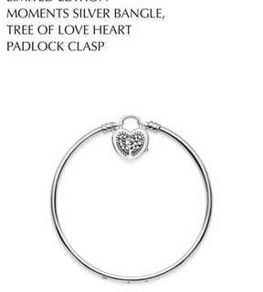 PANDORA limited edition bangle Tree of Love