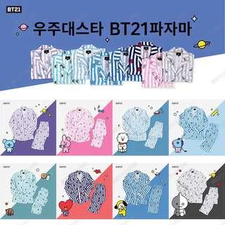 [Official PO] BTS BT21 Pyjamas Set