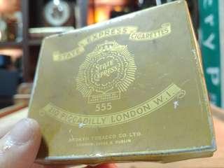 Vintage Cigarette Case State Express 555