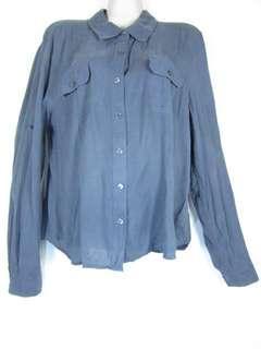 Calvin Klein Silk Long sleeve top