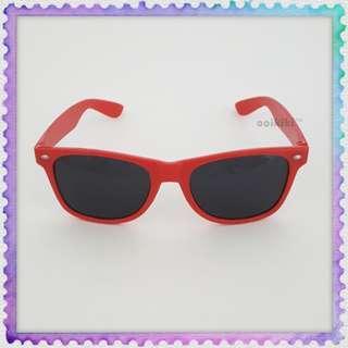 Red adult sunglasses dark glasses sunshade