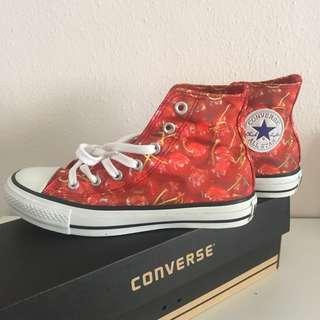 CNY SALES BNIB Japan Converse x Fruits Hi Cherries Edition