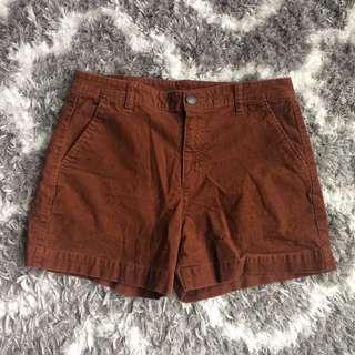 Uniqlo Auburn Corduroy Shorts
