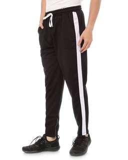 TRACKPANTS LIST WHITE BY PURELINE