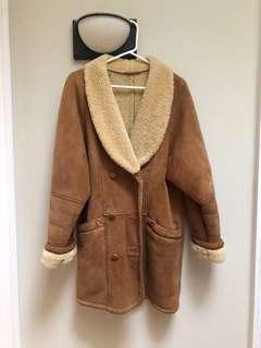 Danier shearling coat