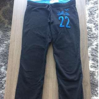 Hollister Navy Blue Sweatpants Size Medium