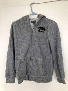 Roots kids XXL zip up sweater