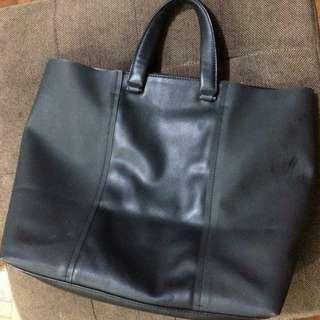 Hush Puppies Black Tote Bag