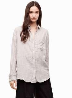Aritzia community blouse