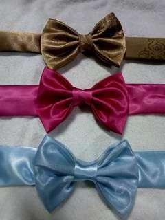 tie style headband