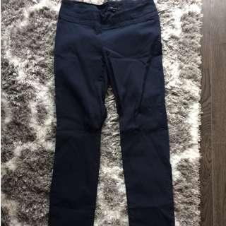 RW&CO Navy Stretchy Work Pants