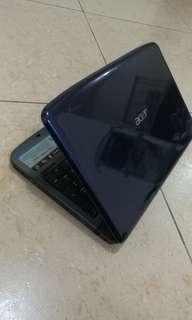 Acer Aspire 5738zg 15.6吋 雙核 二手筆電
