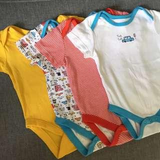 George Onesies 9-12months take all