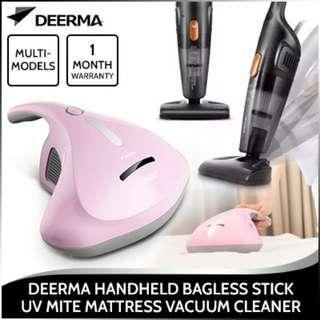 *Deerma* Powerful Handheld Bagless Stick UV Mite Mattress Vacuum Cleaner Blue/UV Mite vacuum/Mites