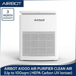 Airbot A1000 Air Purifier Clean Air up to 100 Sqm Air Purifier HEPA Activated Carbon UV Ionizer