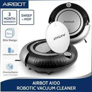 A100 Robotic Vacuum Cleaner Smart Intelligent Robot for Floor Sweeping and Mopping