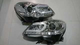 Mercedes C180 W204 FL HID Projector Headlights