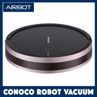 Airbot Conoco Robotic Vacuum Cleaner Robot Floor Sweeper with 750mL Water Tank Mop 2000Pa