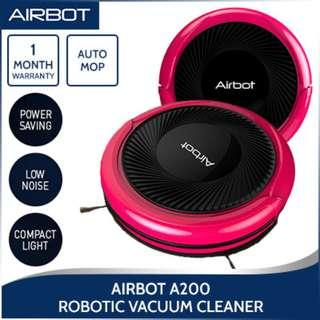 Airbot A200 Robot Vacuum Cleaner Robotic Intelligent Smart Auto Automatic Mopping/Dirt Detect