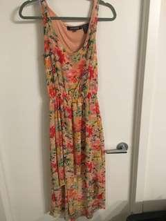 Small high low floral dress