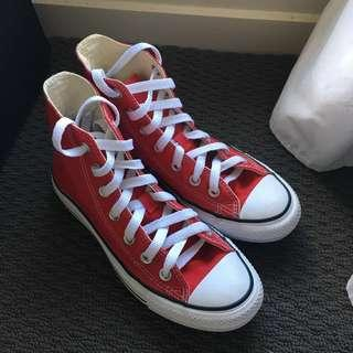Converse chuck high tops all star - Red (as new)