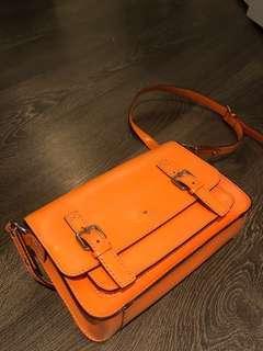 Orange Kate spade purse