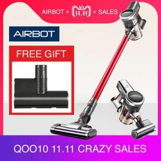 Airbot Supersonics Fluffy Cordless Vacuum Cleaner Handheld for Floor Carpet Sofa Mattress Car