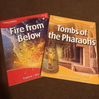Discover Education Tombs of the Pharaoh's and Fire Down Below