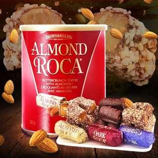 Roka美國進口樂家杏仁糖果巧克力太妃糖酥