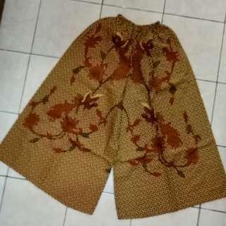 Kulot Lebar Batik