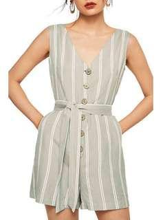 MANGO button front playsuit size XS, RRP $69.95