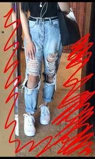 Supre | Destroyed Denim Jeans