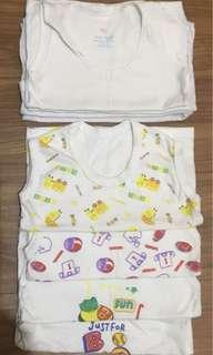 8 pcs. Sando for infants