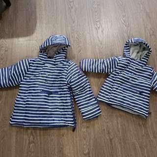 Winter padded jackets