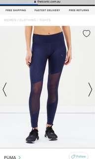 New! PUMA always on graphic 7/8 leggings XS