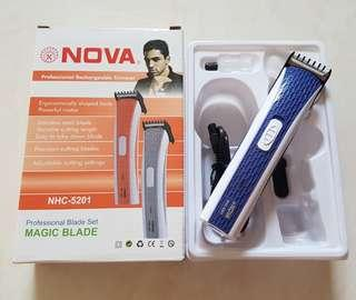 NOVA Rechargeable Hair Trimmer