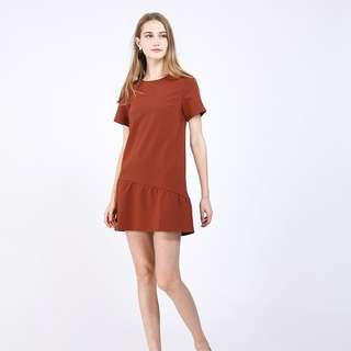 RWB Fenette Dress in Rust XS