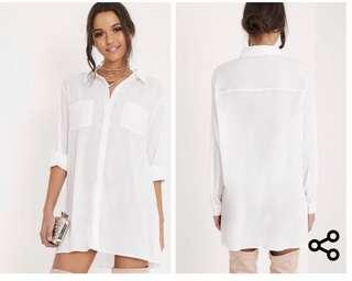 Shirt dress (size )